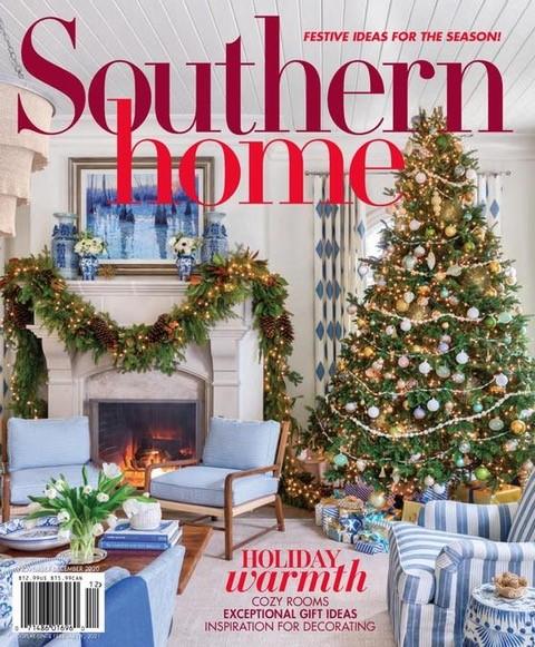 Southern Living Christmas 2021 Press Schuyler Samperton Textiles